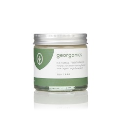 Georganics, Mineralna pasta do zębów Tea Tree, 60ml