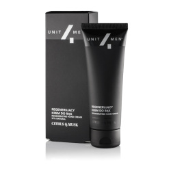Unit4Men, Krem do twarzy Rewitalizujący CITRUS&MUSK, 50ml